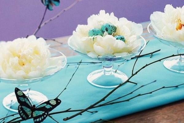 Pregatiri decorative pentru Paste. Idei de amenajare a casei